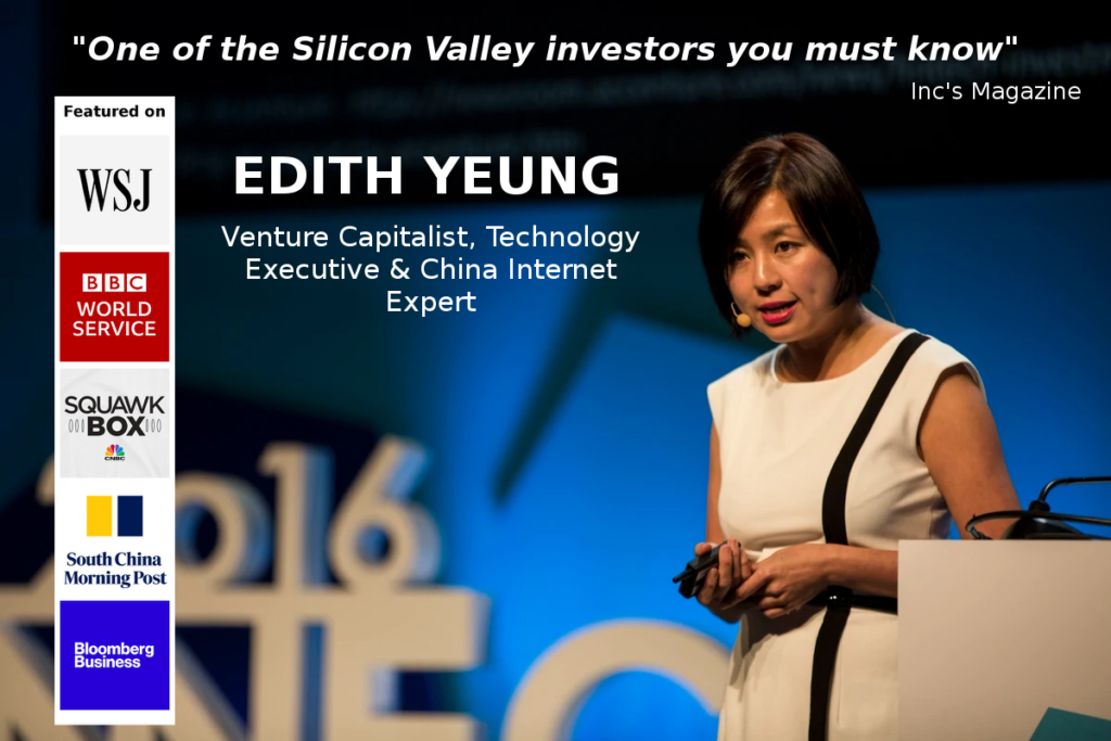 Edith Yeung, Proof of Capital Speaking Banner
